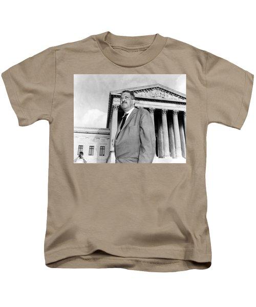 Thurgood Marshall Kids T-Shirt by Granger