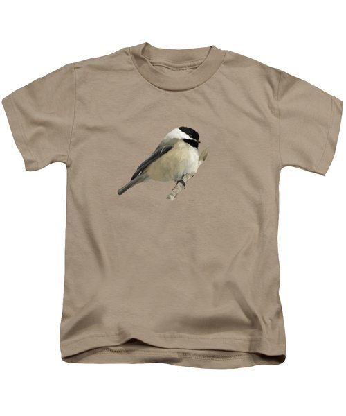 Willow Tit Kids T-Shirt by Bamalam  Photography