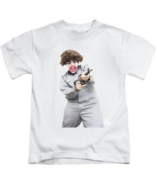 Female Psycho Killer Kids T-Shirt by Jorgo Photography - Wall Art Gallery