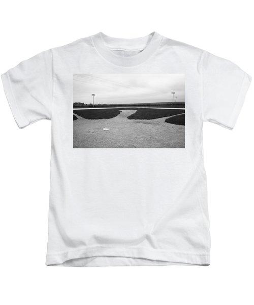 Baseball Kids T-Shirt by Frank Romeo