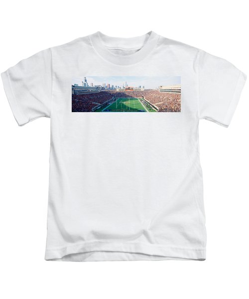 High Angle View Of Spectators Kids T-Shirt by Panoramic Images