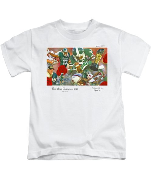 A Very Sweet Rose Kids T-Shirt by John Farr