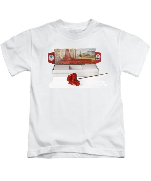 Blood Swept Lands And Seas Of Red Kids T-Shirt by Amanda Elwell