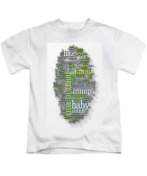 Born To Run Kids T-Shirt by Scott Norris