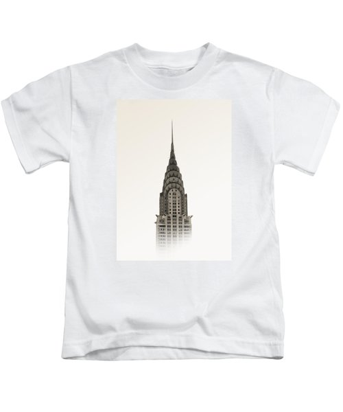 Chrysler Building - Nyc Kids T-Shirt by Nicklas Gustafsson