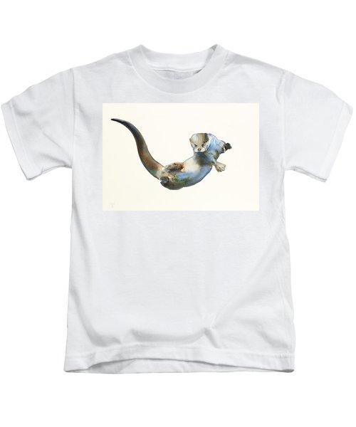 Hunter Kids T-Shirt by Mark Adlington