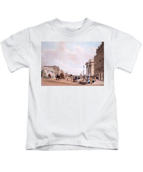 Hyde Park Corner, Looking Kids T-Shirt by Thomas Shotter Boys
