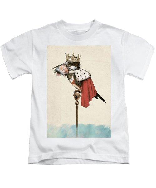 Kingfisher Kids T-Shirt by Eric Fan