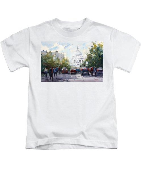 Madison - Capitol Kids T-Shirt by Ryan Radke