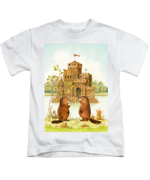 Mclodge Kids T-Shirt by Lynn Bywaters