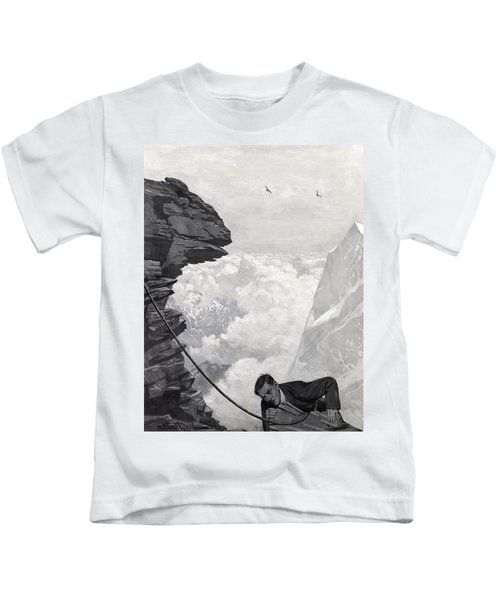 Nearly There Kids T-Shirt by Arthur Herbert Buckland
