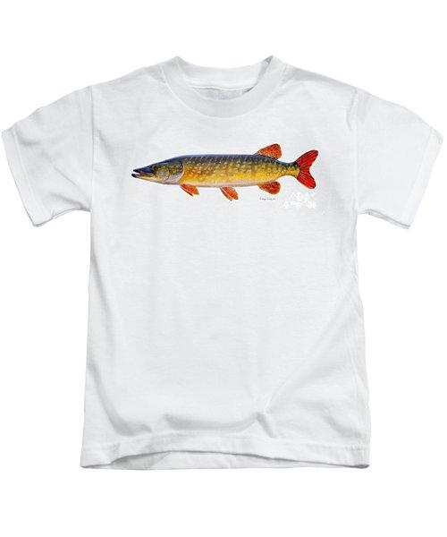 Pike Kids T-Shirt by Carey Chen