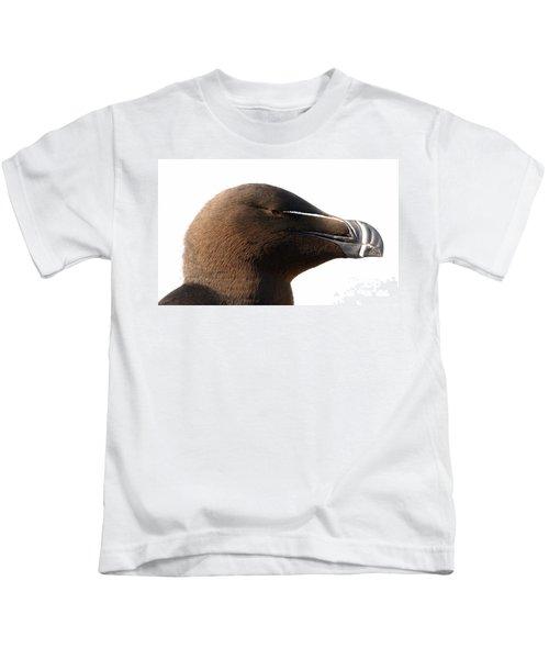 Razorbill Auk Kids T-Shirt by Jeannette Hunt