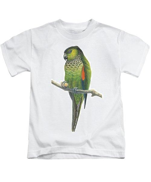 Rock Parakeet Kids T-Shirt by Anonymous