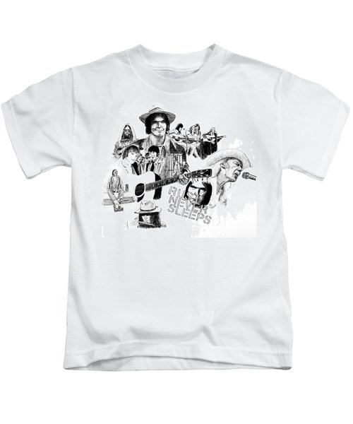 Rust Never Sleeps Kids T-Shirt by Ron Enderland