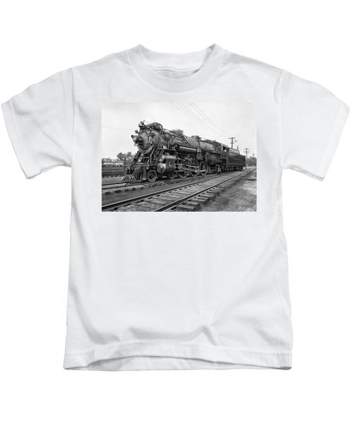 Steam Locomotive Crescent Limited C. 1927 Kids T-Shirt by Daniel Hagerman