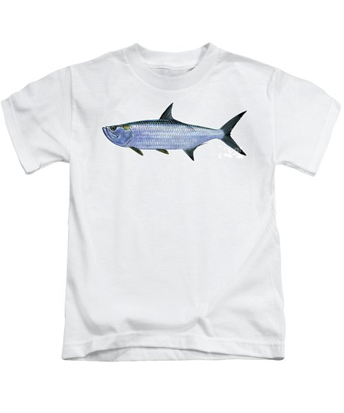 Tarpon Kids T-Shirt by Carey Chen