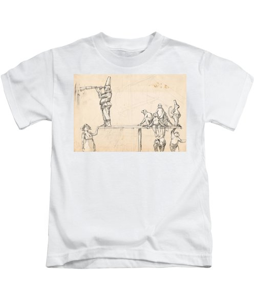 The Captain Kids T-Shirt by H James Hoff