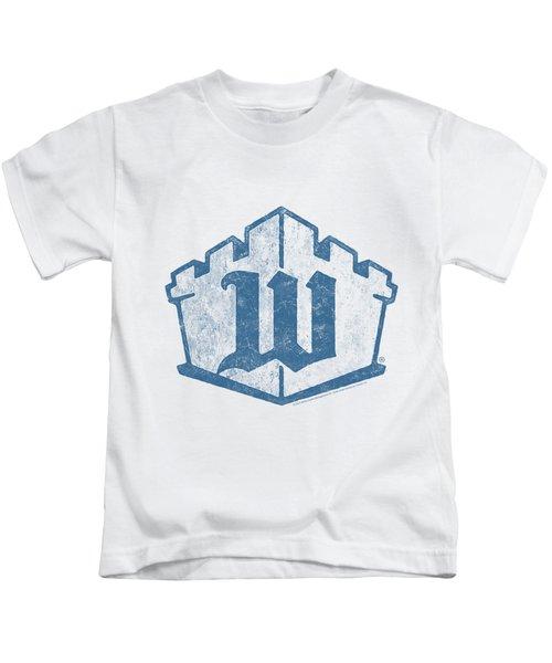 White Castle - Monogram Kids T-Shirt by Brand A