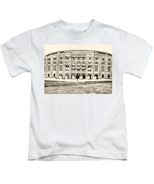 Yankee Stadium Kids T-Shirt by Bill Cannon