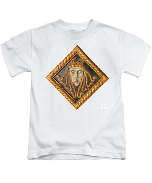 Medusa Kids T-Shirt by Photo Researchers