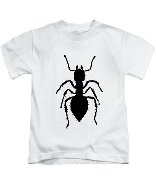 Ant Kids T-Shirt by Mordax Furittus