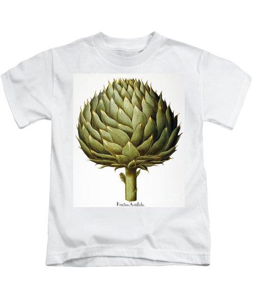 Artichoke, 1613 Kids T-Shirt by Granger