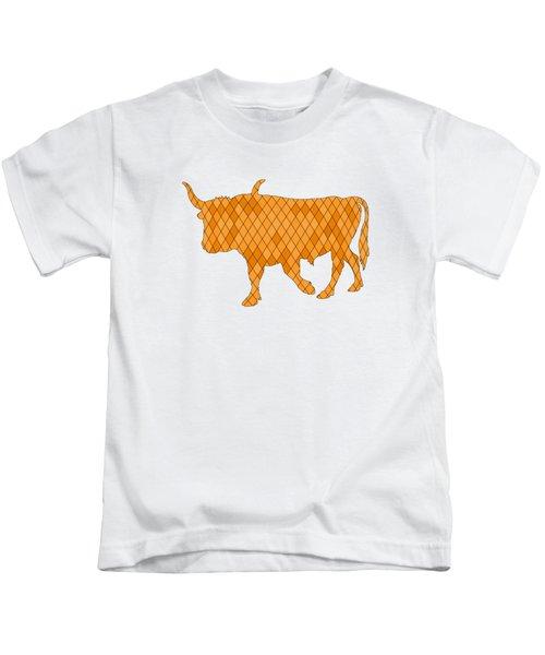Aurochs Kids T-Shirt by Mordax Furittus