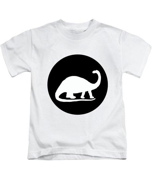 Brontosaurus Kids T-Shirt by Mordax Furittus