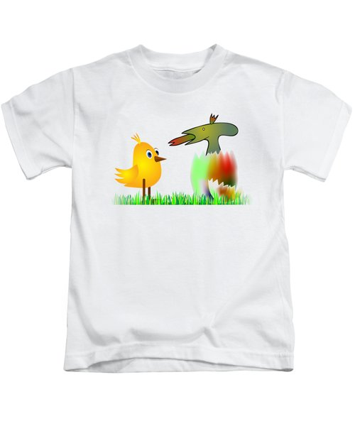 Close Encounters Of The Third Kind Kids T-Shirt by Michal Boubin