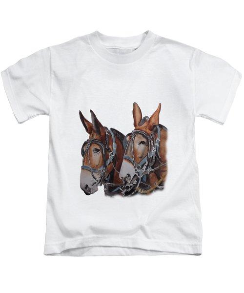 Hitched Kids T-Shirt by Gary Thomas