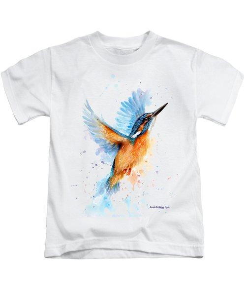 Kingfisher Kids T-Shirt by Sarah Stribbling