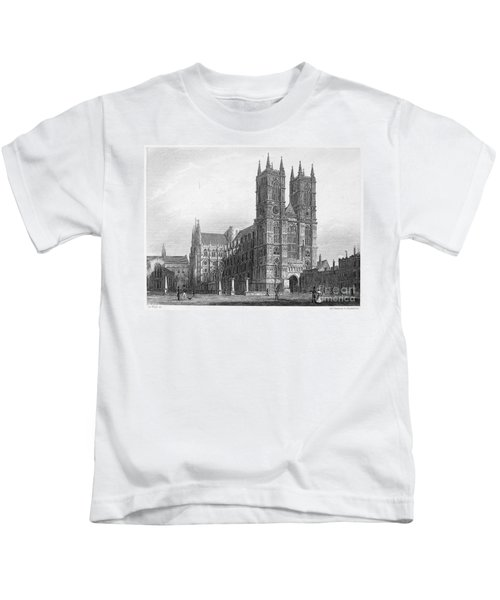 London: Westminster Abbey Kids T-Shirt by Granger