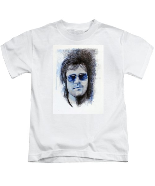Madman Across The Water Kids T-Shirt by William Walts