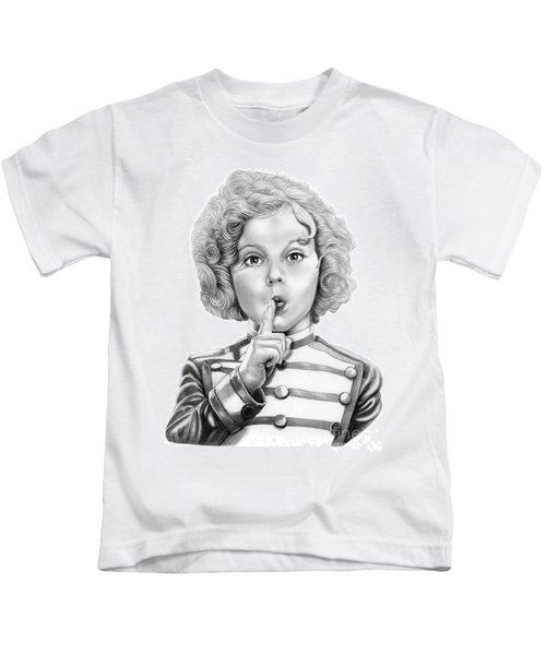 Shirley Temple Kids T-Shirt by Murphy Elliott