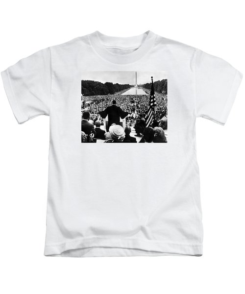 Martin Luther King Jr Kids T-Shirt by American School