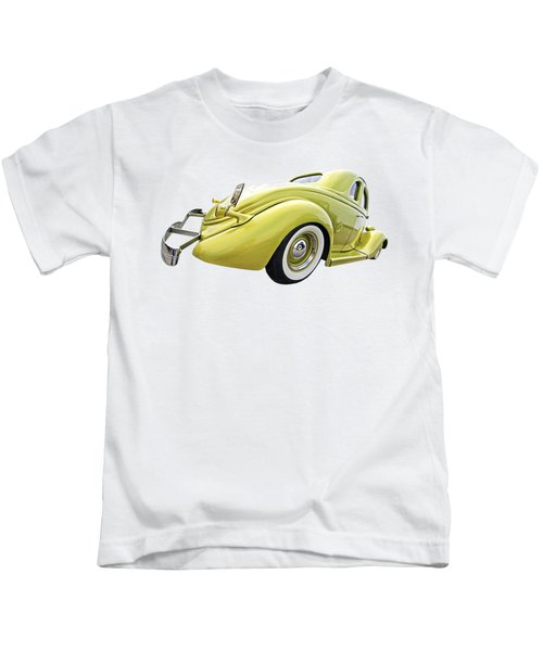 1935 Ford Coupe Kids T-Shirt by Gill Billington