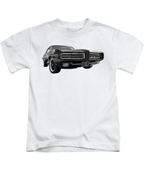 1969 Pontiac Gto The Goat Kids T-Shirt by Gill Billington
