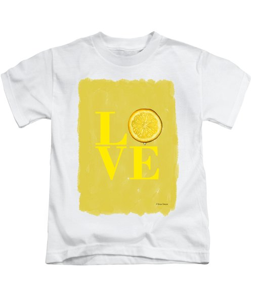 Lemon Kids T-Shirt by Mark Rogan