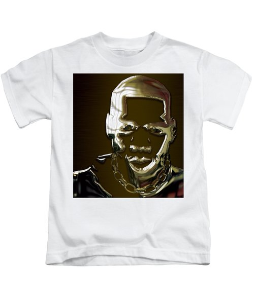 Jay Z Collection Kids T-Shirt by Marvin Blaine