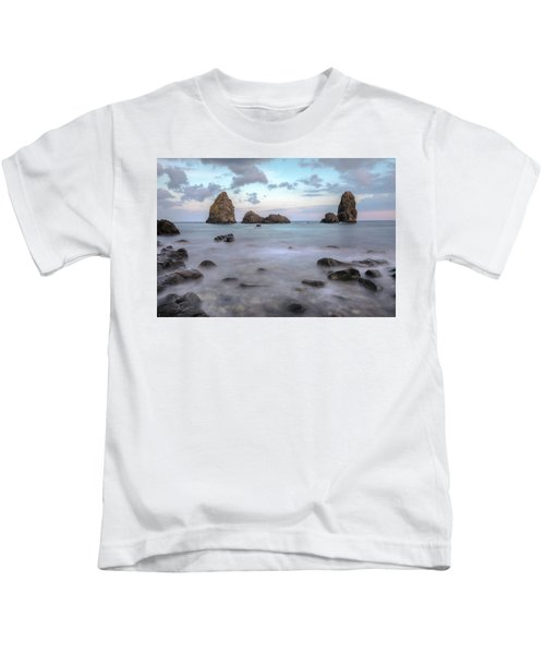 Aci Trezza - Sicily Kids T-Shirt by Joana Kruse
