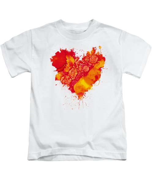 Abstract Intensity Kids T-Shirt by Nikki Marie Smith