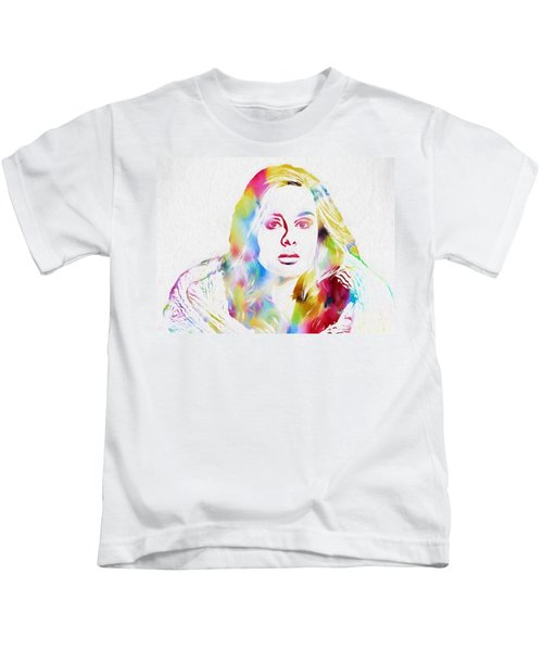 Adele Kids T-Shirt by Dan Sproul