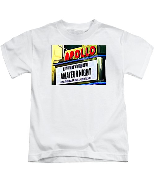 Amateur Night Kids T-Shirt by Ed Weidman