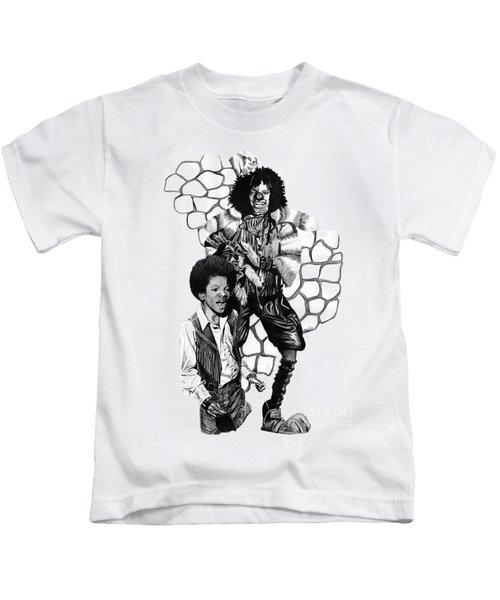 Michael Kids T-Shirt by Terri Meredith