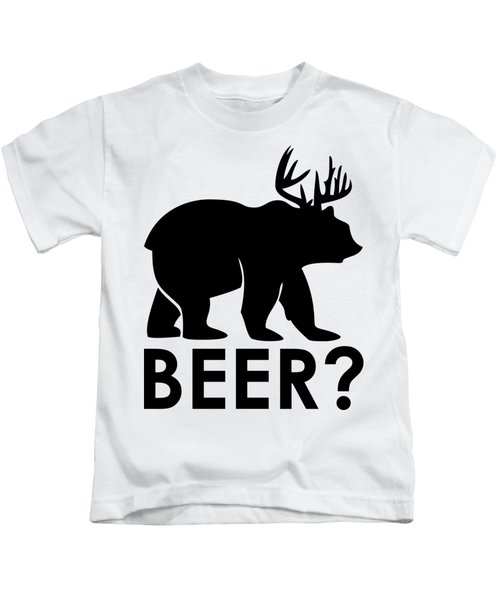 Beer? Kids T-Shirt by Frederick Holiday