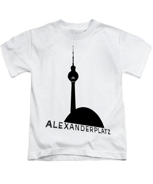 Berlin Alexanderplatz Kids T-Shirt by Julie Woodhouse