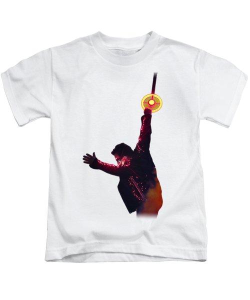 Bono - Light Kids T-Shirt by Clad63