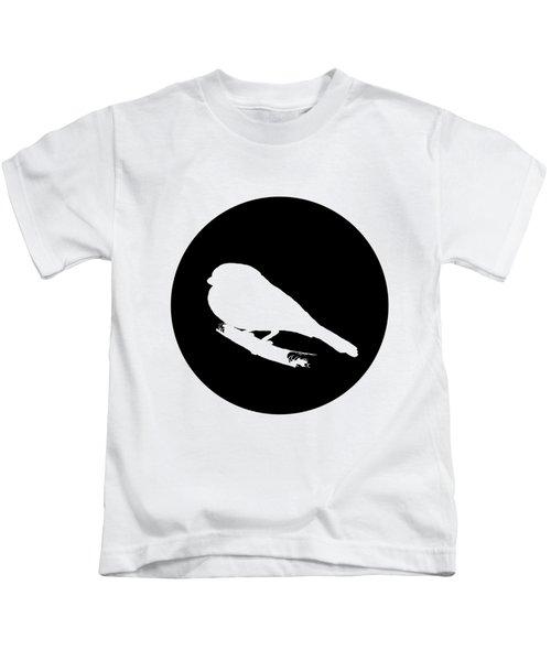 Bullfinch Kids T-Shirt by Mordax Furittus