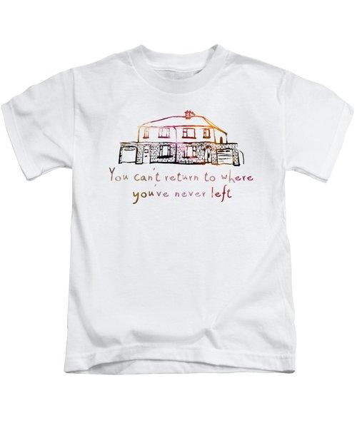 Cedarwood House Kids T-Shirt by Clad63